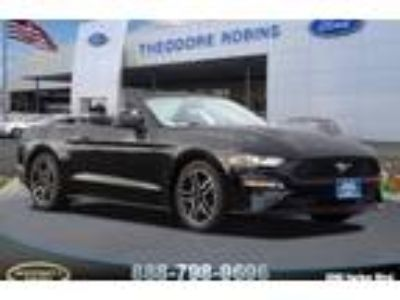 New 2018 Ford Mustang Convertible