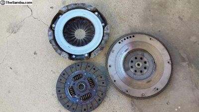 1985 vanagon clutch, press and fly wheel
