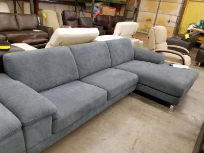 Nicoletti Dorian Fabric Sectional- REG. $4,200.00 Outlet PRICE $999