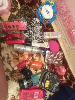 Beauty products lot some new some used