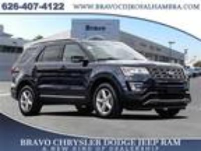 Used 2017 Ford Explorer Blue, 46.7K miles