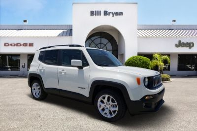 2018 Jeep Renegade Latitude (Alpine White)