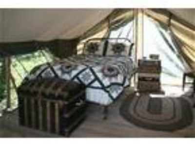 Huckleberry Tent and Breakfast - Sandpoint Idaho - Vacation Tent Cabin Rental -