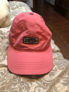 Pink AFTCO hat