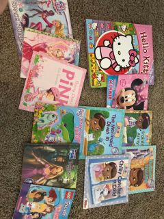 Girls book lot of 12
