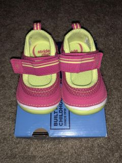 Stride ride soft motion Mary Jane baby girl
