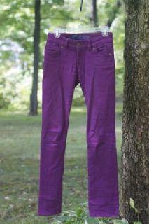 $18 Purple Skinny Jeans