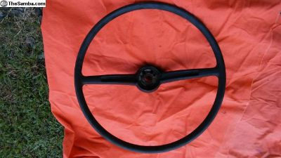 67 Squareback Black Steering Wheel