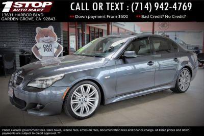 2008 BMW 5-Series 550i (Space Gray Metallic)