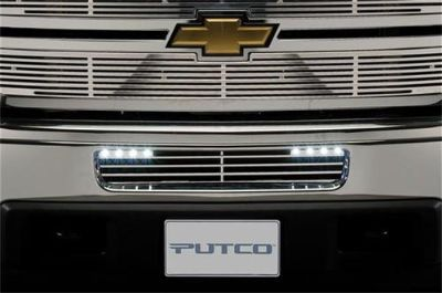 Purchase Putco 280506RL Bumper Valance Grille Insert SILVERADO 2500HD 3500 HD w/LED motorcycle in Naples, Florida, US, for US $240.13