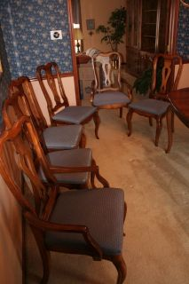 """Ethan Allen dining room """"Country French"""" collection chair Set"""