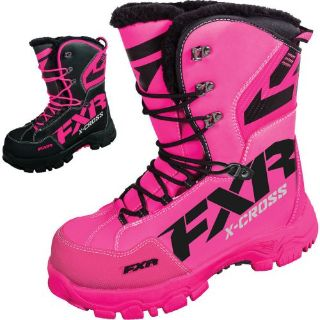 Sell FXR Racing X Cross Womens Snowboard Skiing Sled Snowmobile Boots motorcycle in Manitowoc, Wisconsin, United States, for US $144.49