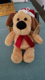 Cute Christmas Puppy, new with tag