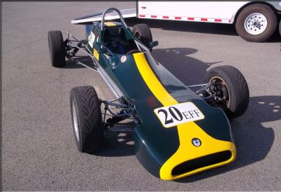 A Classic Race Car & A Brand New Race Prepared Trailer