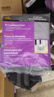 New in pkg air conditioner cover $3