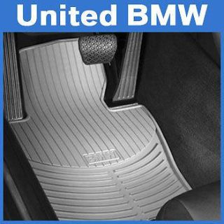 Purchase BMW 3 Series Front Rubber Floor Mats E46 323 325 328 330 Coupe 2000-2006 - Gray motorcycle in Roswell, Georgia, US, for US $55.00