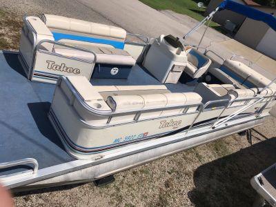 1999 Tahoe Playbouy Aspen 22 Pontoon Boats Coloma, MI