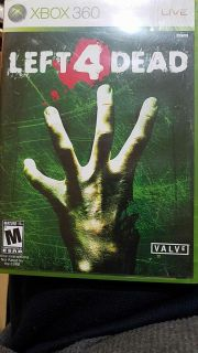 LEFT FOR DEAD XBOX 360