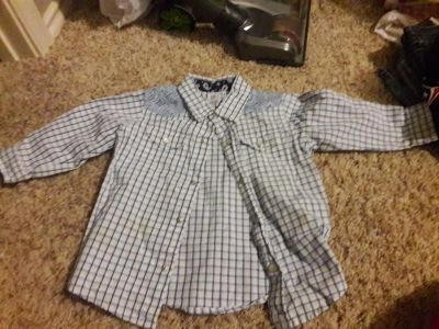 Baby boy Gap 18-24 month long sleeve button up