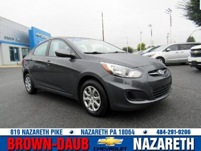 2012 Hyundai Accent GLS (Cyclone Gray)