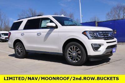 2019 Ford Expedition Limited (White Platinum Metallic Tri-Coat)