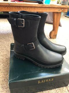 Women s Ralph Lauren size 10 rain boots