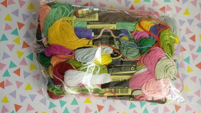 Embroidery floss 50 skeins