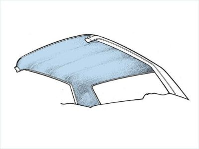 Purchase 1965-1968 Mustang Fastback 2+2 HEADLINER LIGHT BLUE motorcycle in Vista, California, United States, for US $40.95