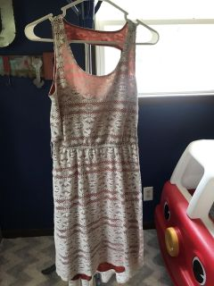 Size small with belt