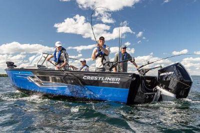 2019 Crestliner 2250 Authority Aluminum Fish Boats Kaukauna, WI