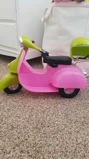Our Generation doll scooter