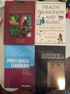 Public Health Administration Reference Textbooks