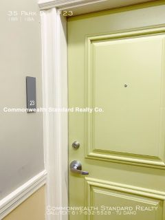AVAILABLE 10/1!! - 1BED/1BATH IN FENWAY- RENOVATED W/ HEAT & HOT WATER !!!