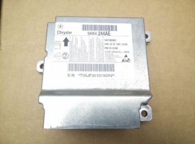 Purchase 11 12 13 VW VOLKSWAGEN ROUTAN AIR BAG CONTROL MODULE COMPUTER SRS UNIT OEM motorcycle in Covington, Georgia, United States, for US $69.94