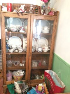 Pie safe or Curio or Display cabinet