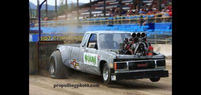 TWD pulling truck