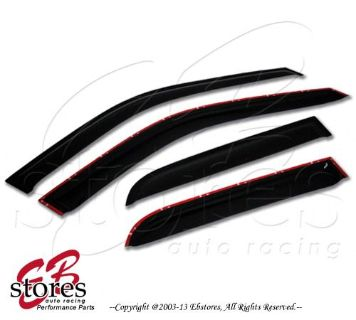 Find Vent Shade Window Visors Rain Guard Out-Channel 2.0mm Toyota Sienna 11-16 4pcs motorcycle in La Puente, California, United States