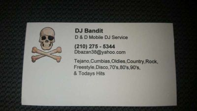 DJ Service House Party's $275 for 4 hours call for prices for other venues