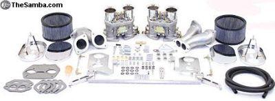 Dual 40 or 44 HPMX Carb Kit