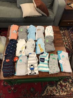 Baby Boy Clothes 3-6M/6M- HUGE LOT (2 pictures)