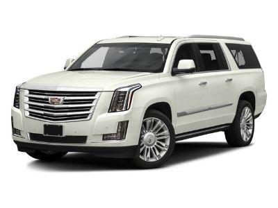 2016 Cadillac Escalade ESV Platinum (Crystal White Tricoat)