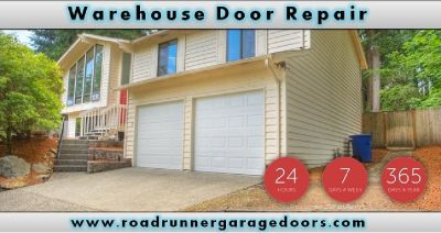 Sale For Warehouse Door Repair On 4th July | $26.95