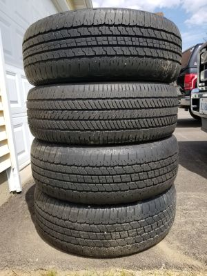 1 set of 4 used tires