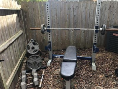 Weight Set with 430lbs of Weights