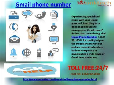 Why to profit Gmail signal 1-850-316-4893?
