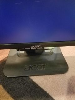 """Acer computer monitor 19"""""""