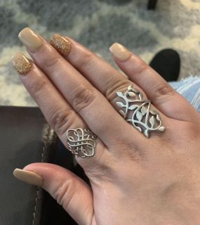 New Sterling silver rings