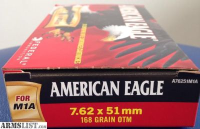 For Sale: 20 Rounds 7.62 x 51mm