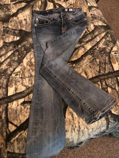 Miss Me jeans size 27, signature boot