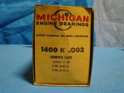 Purchase 1965 - 76 Chevrolet 396 402 427 454 Chevelle Corvette Impala Main Bearings 002 motorcycle in Vinton, Virginia, United States, for US $30.00